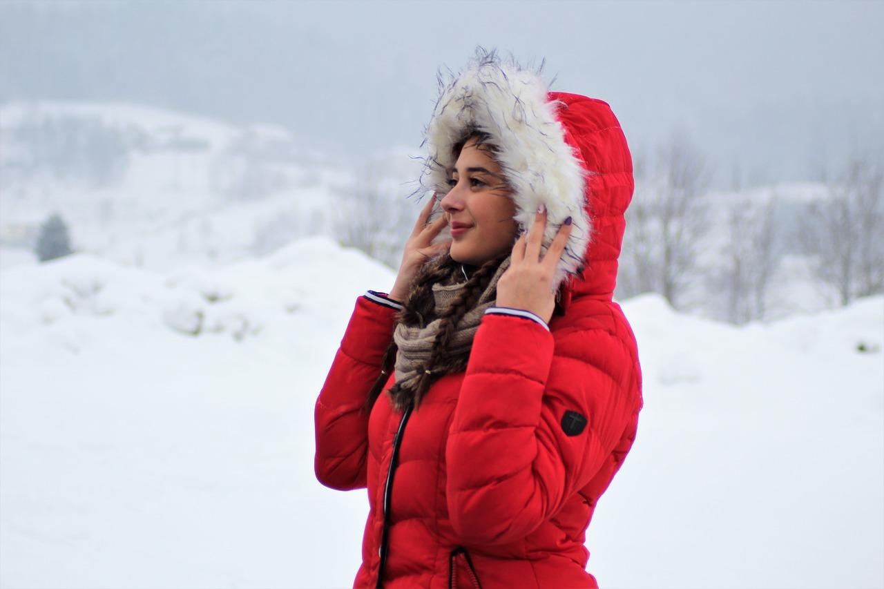 雪国の女性