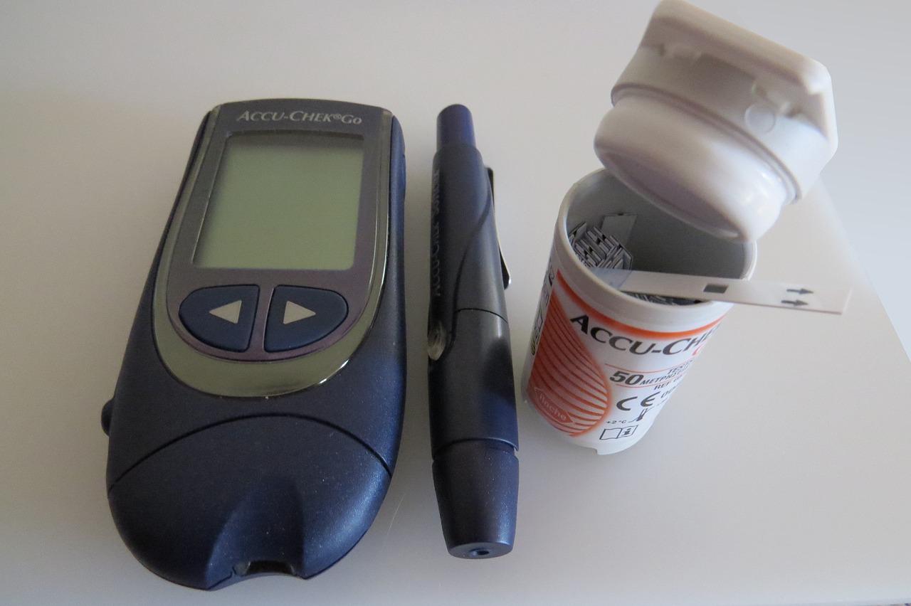 血糖値を測る機器