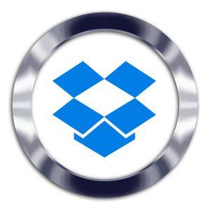 dropboxのロゴ